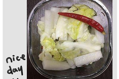 随心浅渍泡菜