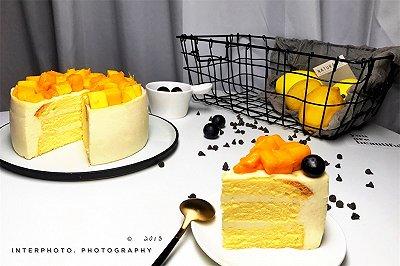 榴芒慕斯蛋糕