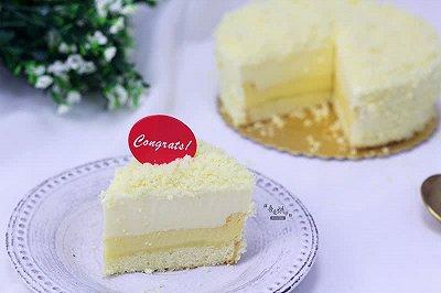 幸福感爆棚的双层芝士蛋糕