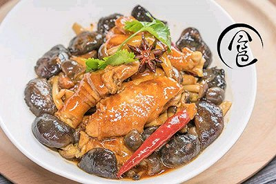 「回家菜谱」小鸡炖蘑菇