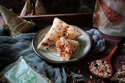 十二谷米叉烧粽