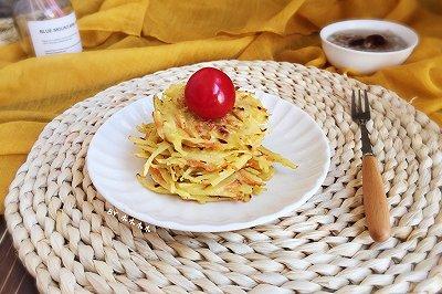 快手早餐~土豆丝鸡蛋饼