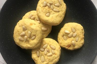 蛋黄南瓜饼