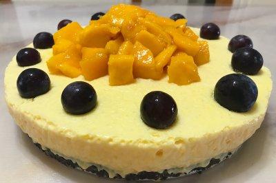 冰淇淋芒果慕斯蛋糕