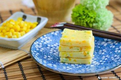 南瓜玉米煎饼宝宝辅食食谱