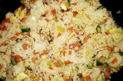 蔬菜扬州炒饭