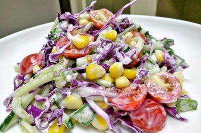 拉丝蔬菜沙拉
