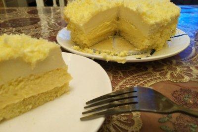 双层乳酪芝士蛋糕