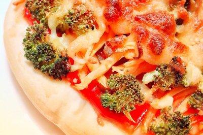 小牛排披萨
