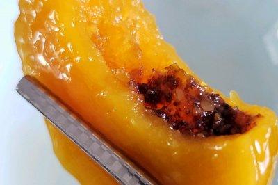 苏麻桔红南瓜饼