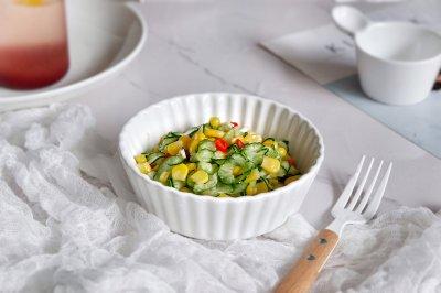 玉米黄瓜沙拉