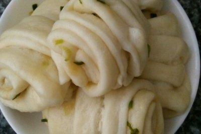 超简单的葱油花卷