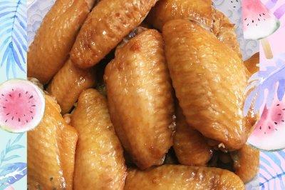 咸蛋黄醪糟烤鸡翅