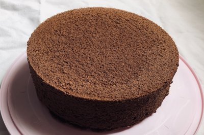 八寸巧克力戚风蛋糕