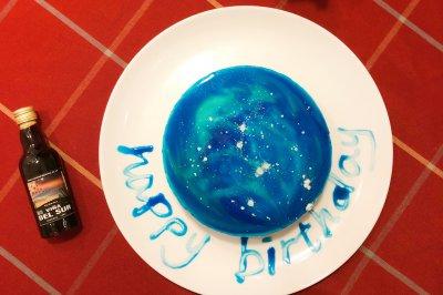 星空酸奶慕斯蛋糕