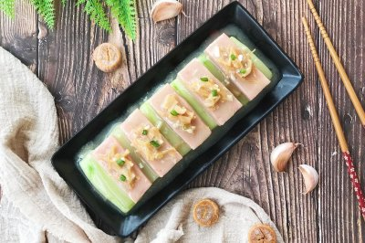 瑶柱午餐肉焖节瓜