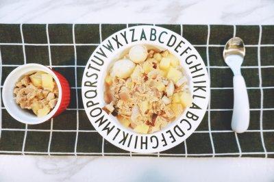 宝宝版卤肉饭