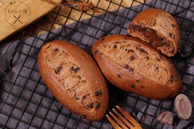 巧克力甜面包