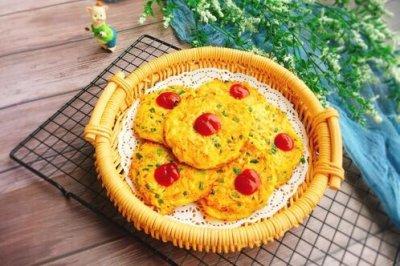 胡萝卜土豆丝鸡蛋饼