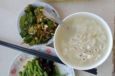 薏米百合粥