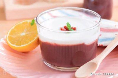 紫米酸奶杯宝宝辅食食谱