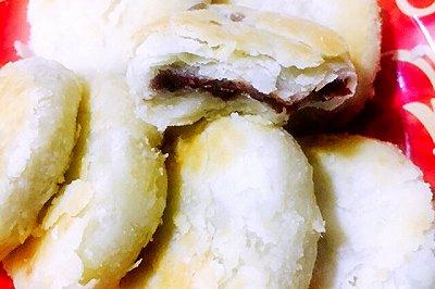 苏式月饼(平底锅版)豆沙馅儿