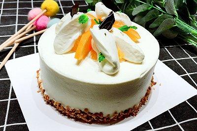 橙香奶酪海绵蛋糕