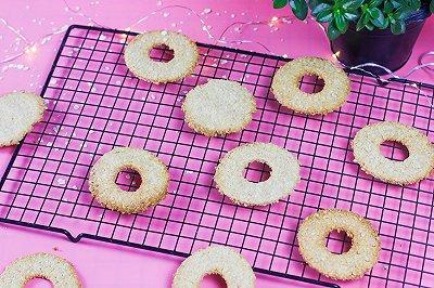 高纤维燕麦饼干