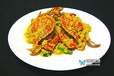 泰式咖喱炒蟹