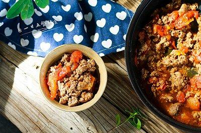 番茄牛肉酱
