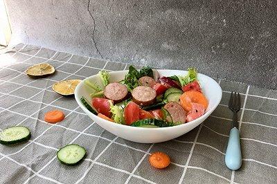番茄蔬菜沙拉