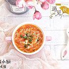 番茄汁金针菇汤