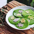 宝宝辅食:彩蔬菠菜饼