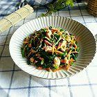 麻酱拌坚果菠菜