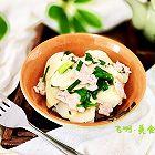 慈菇青蒜炒肉片