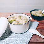 豆腐肉圆子白菜萝卜汤