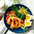 蒜香蜂蜜烤鸡胸肉