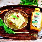 鸡汁荠菜百叶包