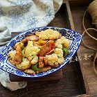 花菜炝炒五花肉