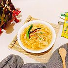 鸡汁热汤面