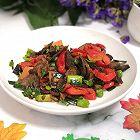 牛肉煸炒红椒