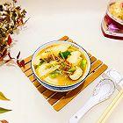 杂蔬热汤面片