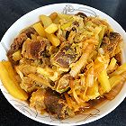 白菜炖土豆条