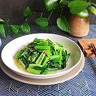 小白菜炒虾皮补钙