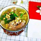 猪蹄苦瓜黄豆汤