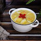 玉米面百合苹果粥