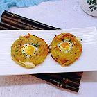 创意土豆鹌鹑蛋饼