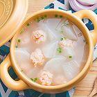 萝卜烩虾丸