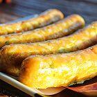宝宝辅食:虾肉米肠