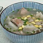 黄豆莲藕排骨汤